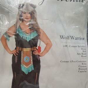 Wolf Warrior Costume - Plus Size